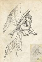 gryphon longlegs by Novawuff
