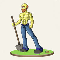 Willie Groundskeeper by Paku05