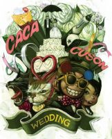 wedding by cuson