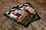 Halloween Costume Party Flyer Template by majkolthemez