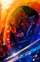 Shan Yu- Fire and Ice by nathan18