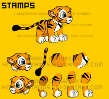 SPRITE SHEET. STAMPS by NCH85