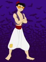 Halloween 2012: Chow as Aladdin by TheLastUnicorn1985