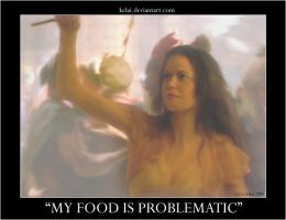 My food is problematic by Firefly-Club