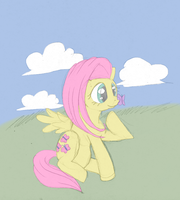 Flutter by the-Rose-of-Blue