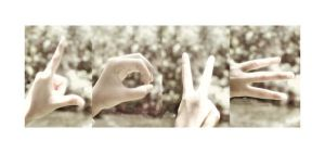 the hands of LOVE by lisz
