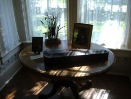 An Author's Desk by mackwrites