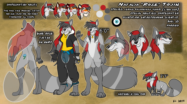 Natalia Tojin Refsheet by computerfreak