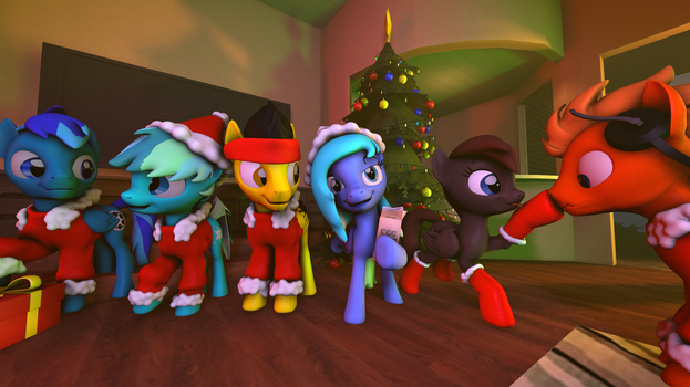Christmas Party 3 by Project-88
