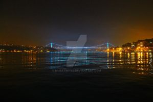 Fatih Sultan Mehmet Bridge, The Bosphorus by muratbey82