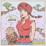 RANMA SAOTOME by paintmarvels
