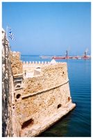 Fort at Heraklion Crete by inbalance