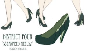 Capitol Couture Competition #1: Seaweed Heels by EveryGirlYouKnow