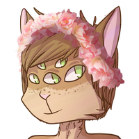 i like flowercrowns by meow-png