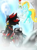 MLP x Sonic World: Shadow and Lightning Dust by PsyfteBlue
