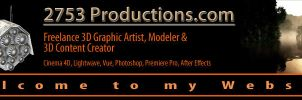 Website Banner by 2753Productions