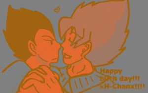 happy birthday xH-chanx by supersaiyanpopo