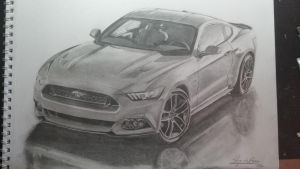 2015 Ford Mustang Completed by jacodebeer