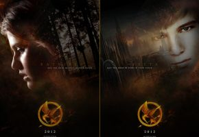The Hunger Games Posters by N1z1ra