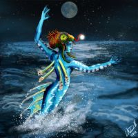 Mermaid by hydraa