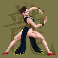 ChunLi SSF4 Alternate by JP-909