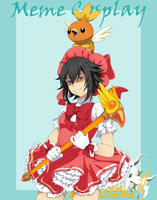 :AA: Meme Cosplay - Card Captor Nanamy by NaMy-BoT