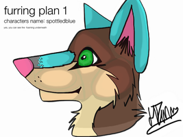 mask furring plan by IndiTheWolfy