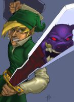 link and gannon by pashburn