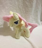 PLUSH GIVE AWAY - Fluttershy custom plush by Kitamon