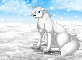 100 Theme Challenge - 15: Snow by TheWolfFight