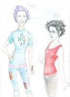 Comparing Alice n Tonks by burdge