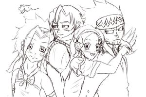 gajeel and levy family by xdeanaxxrawrx