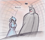 The bat and the raven by Streled