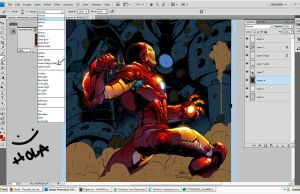 IRON MAN sneak peek by zaratus