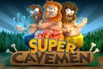 Supercavemen Splashscreen by drewbrand