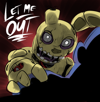 Springtrap by Metal-Kitty
