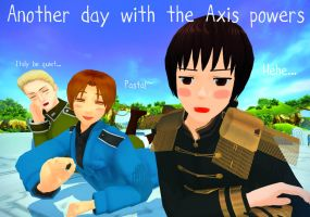 Another Day with the Axis Powers! by Quincy1313