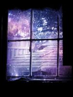 window into the stars by x--photographygirl