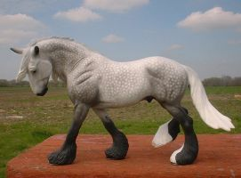 Dapple Gray Breyer Othello by Cylistarr