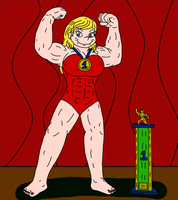 Muscular Angelica by Natter45