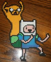 Finn and Jake: Dancing Time! by EternalBarrel