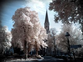 Berlin - Alt Tegel infrared by MichiLauke