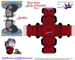 Disney Cinderella lady tremaine Cubeecraft Part 2 by SKGaleana