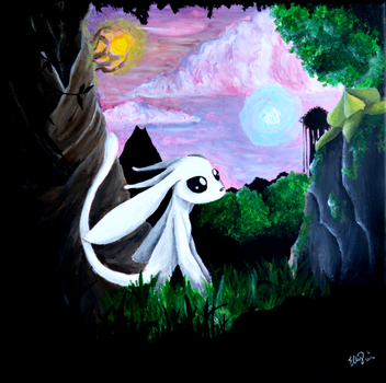 Ori and the Blind Forest by ElzieBanana