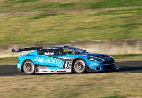 Aston Martin GT3 at Sydney motorsport park by Bigfish22