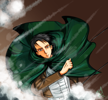 Snk: Levi by xPawhaha