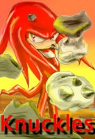 Knuckles by QTStartheHedgehog