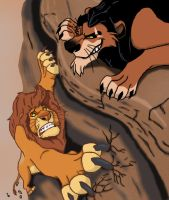 Mufasa's death by Kaiserinthedragoness
