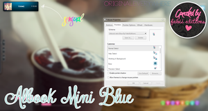 Albook Mini blue by OriginalEverywhere