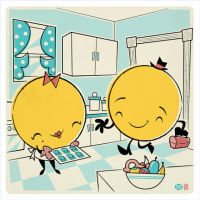 Mr and Mrs Pacman by Montygog